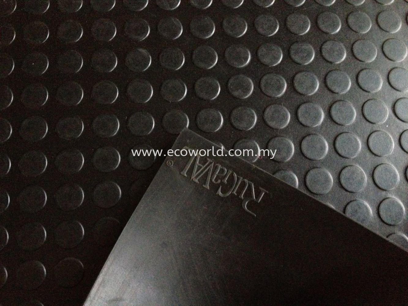 Rubber Studded Mat Roll Foam Standard Size Floor Mat