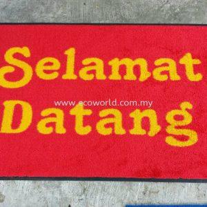Message Mats (Welcome / Selamat Datang)